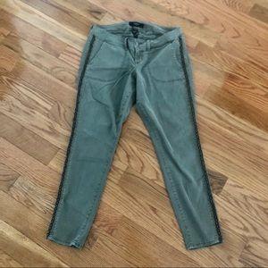 TORRID   Military Green Skinny Pants